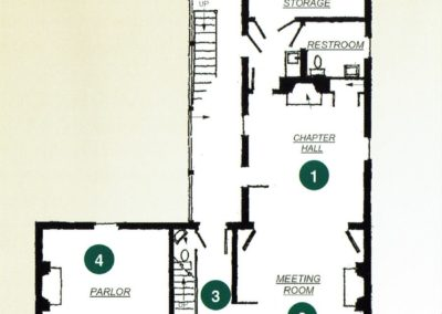 Founders House Blueprints First Floor