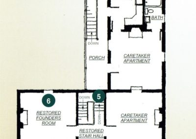 Founders House Blueprints Second Floor