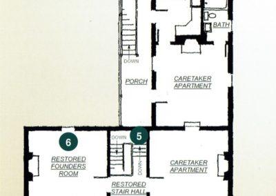 Founders House Blueprints Second Floor